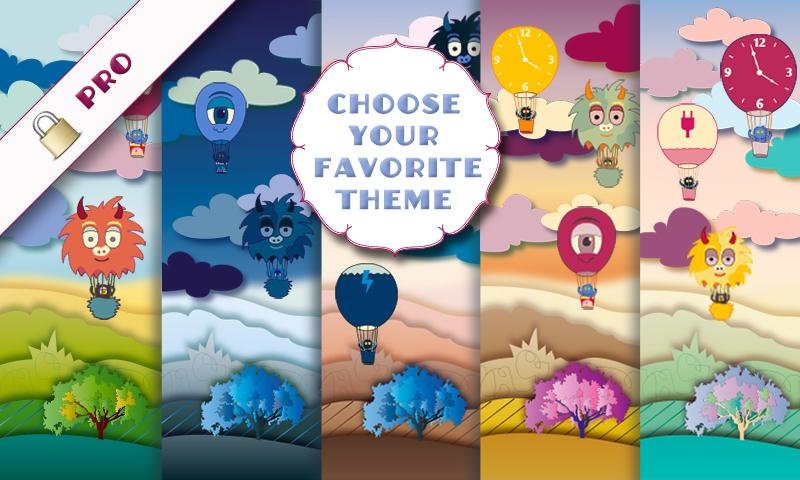 Air Balloon Magic LWP Free- screenshot