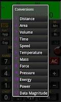 Screenshot of Mathex Lite Calculator