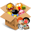 Emoticons pack, Mix Characters icon