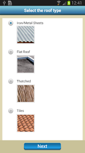 Rainwater Harvesting Tool- screenshot thumbnail
