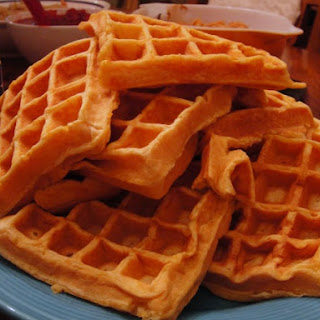 Sweet Potato Waffles.