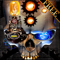 Steampunk Skull Free Wallpaper logo