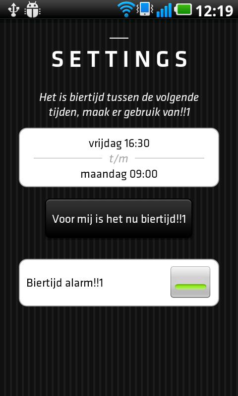 Biertijd - screenshot