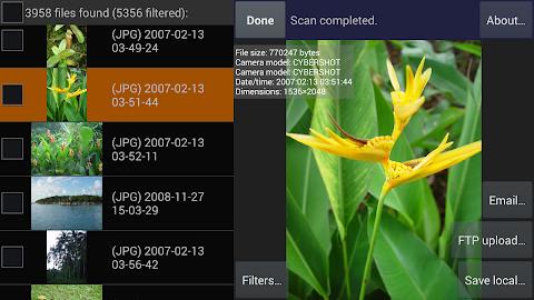DiskDigger photo recovery Screenshot 22