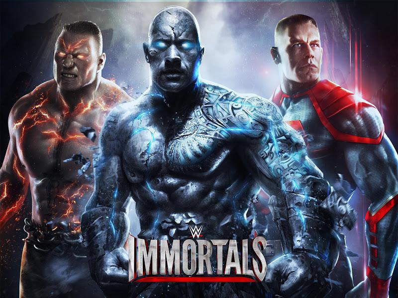 WWE Immortals v1.3.1 Mod APK - Cover