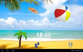 Screenshot of deskArt Summer Free