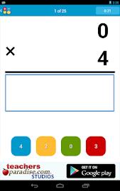 Math Practice Flash Cards Screenshot 13