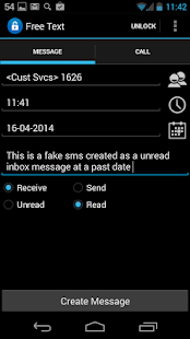 Fake SMS & Call Trial- screenshot thumbnail