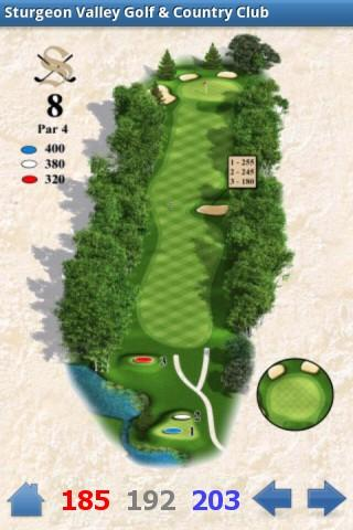 Sturgeon Valley Golf Club- screenshot