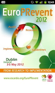 EUROPREVENT 2012 screenshot 1