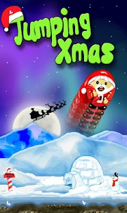 Jumping Xmas- screenshot thumbnail