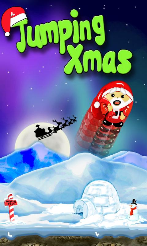 Jumping Xmas- screenshot