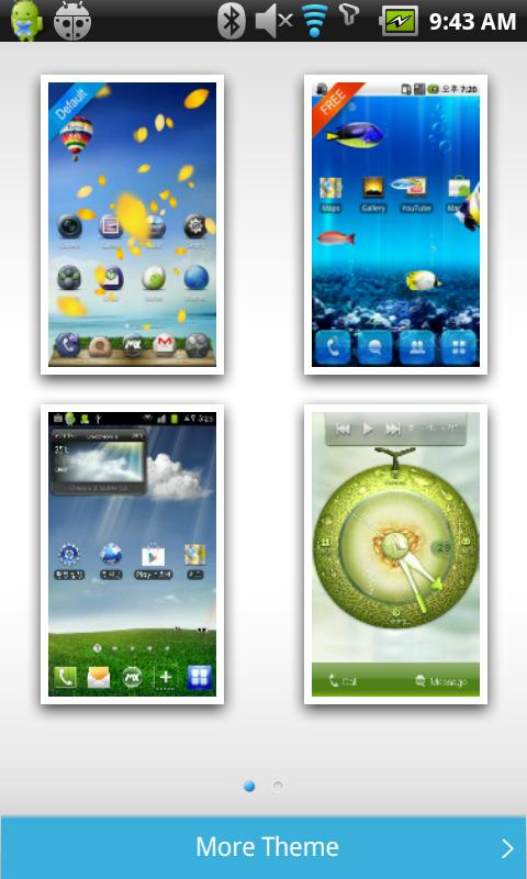 MXHome Launcher 3.1.8 - screenshot
