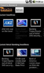 Finextra News - screenshot thumbnail