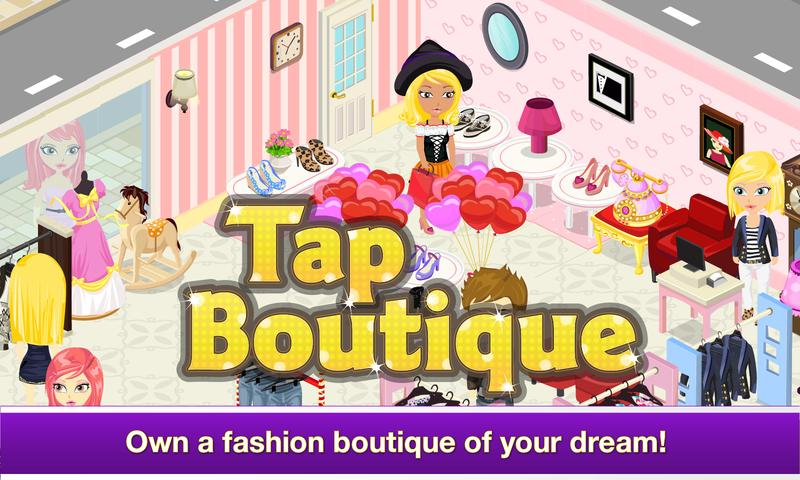 #2. Tap Boutique - Girl Fashion (Android)