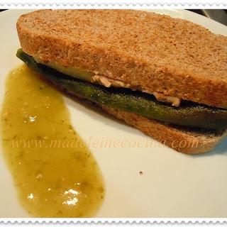 Poblano Pepper Sandwich.