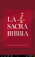 Screenshot of Bibbia CEI