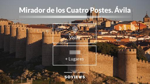 Mirador de Cuatro Postes Ávila
