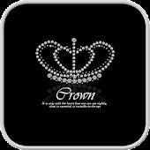 crown Go Launcher theme