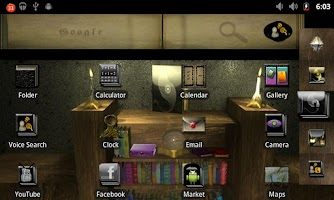 Screenshot of Book of Shadows ADW
