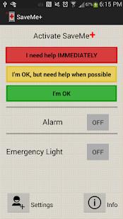 SaveMe+ screenshot