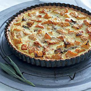 Roast Buttenut Quiche