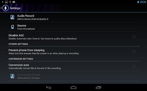 RecForge II Pro Audio Recorder v0.0.19g