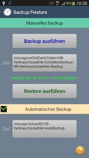 HB-Verbrauchszähler Lite - screenshot thumbnail