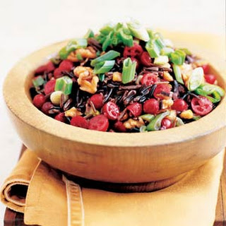 Wild Rice and Cranberry Salad