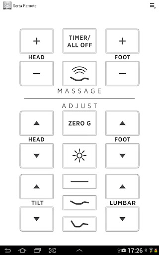 Serta Remote