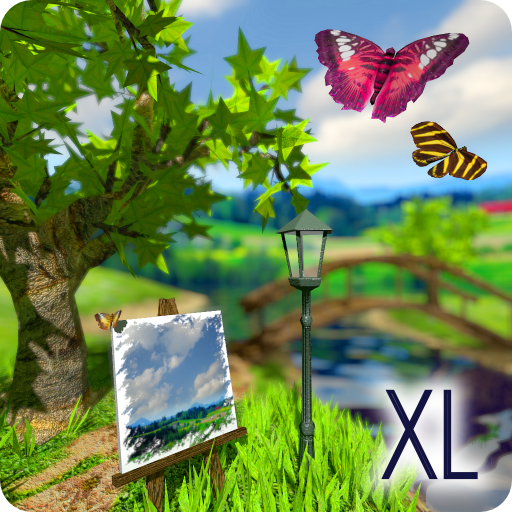 Parallax Nature: Summer Day XL 3D Gyro Wallpaper