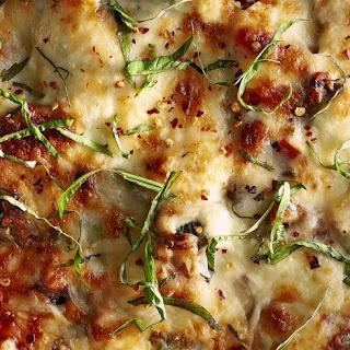 Skillet Mushroom-and-Spinach Lasagna