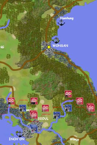 Korean war DEMO