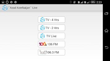 Screenshot of Azad Azerbaijan