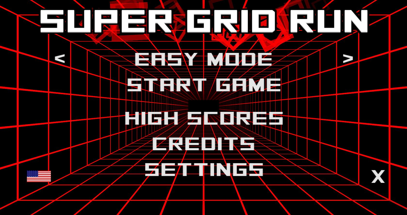 Super Grid Run- screenshot
