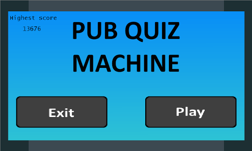 The Pub Quiz Machine