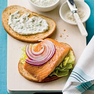 Salmon Sandwich Mayonnaise Recipes.