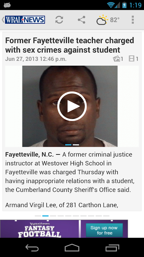 WRAL - screenshot