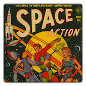 Space Action Comic Book #1