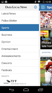 Daily Local for Android - screenshot thumbnail