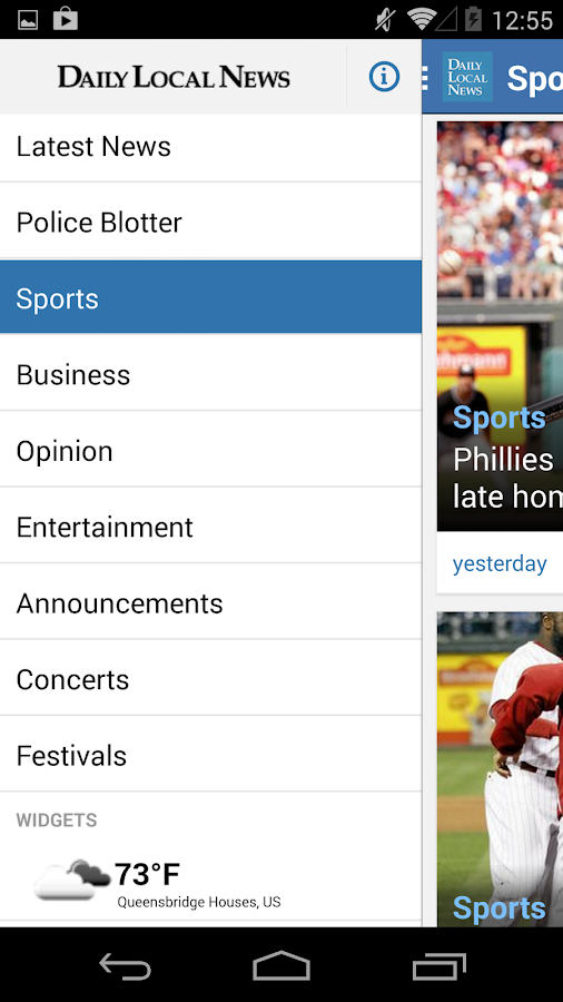 Daily Local for Android - screenshot