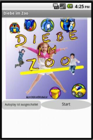 Diebe im Zoo - Kinderhörbuch