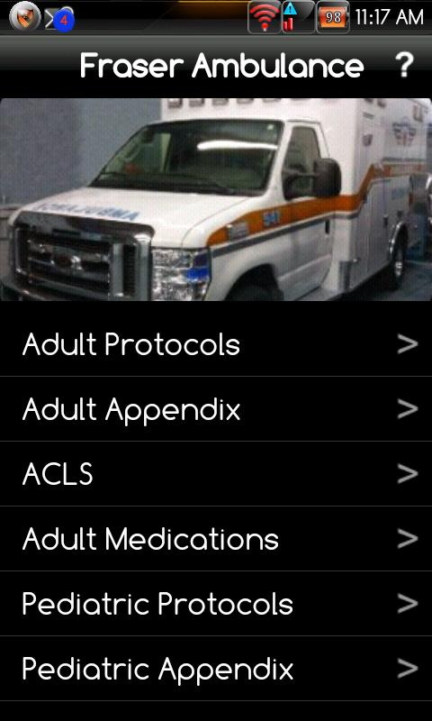Fraser EMS - screenshot