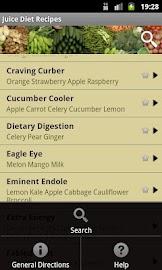 Juice Diet Recipes Screenshot 3