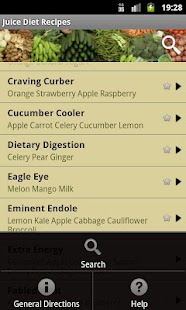 Juice Diet Recipes Screenshot 3