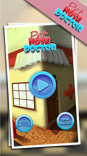 宠物的鼻子医生-好玩游戏