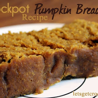 Crockpot Pumpkin Bread.