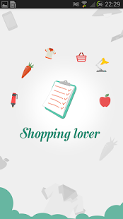 Shopping Lover - Shopping List