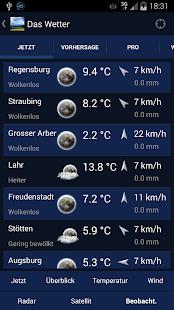 Das Wetter in Deutschland - screenshot thumbnail