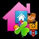 ADW Apex GO Theme Pink